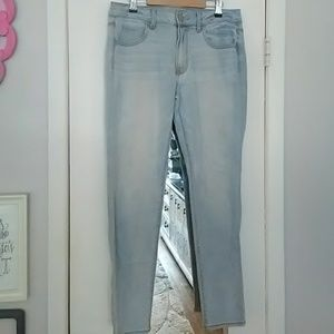 American Eagle Light Wash Super Stretch Jegging 12